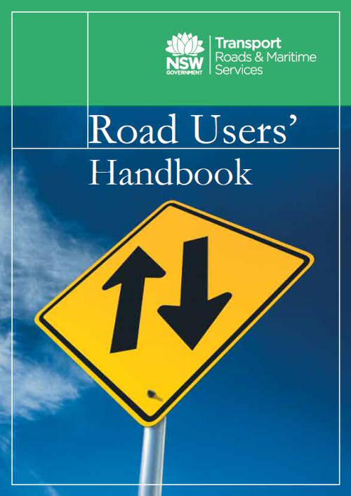 Road Users Driver Handbook